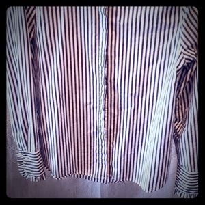 Victorian style button up shirt